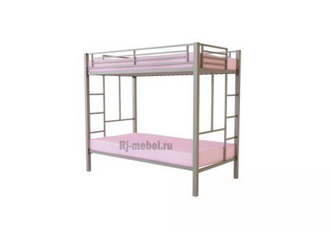 Двухъярусная металлическая кровать Грация