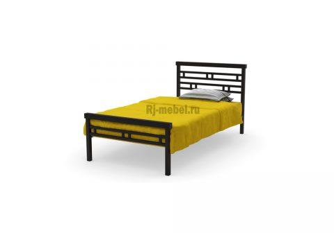 Односпальная металлическая кровать Доминга