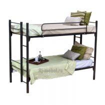 Двухъярусная металлическая кровать Адель