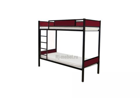 Двухъярусная металлическая кровать Агата