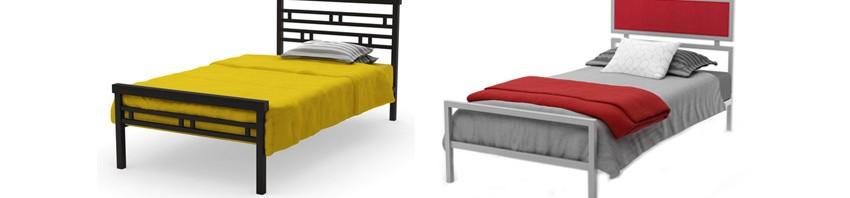 Односпальные металлические кровати Доминга и Беатрис