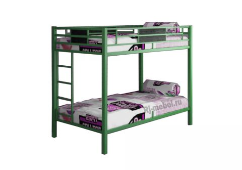 Двухъярусная кровать Гранада 2 (зеленая)