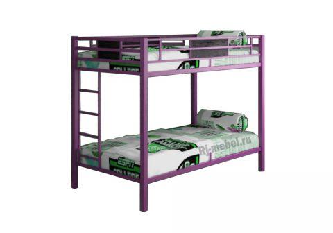 Двухъярусная кровать Гранада 2 (розовая)