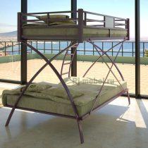Двухъярусная металлическая кровать Виньола