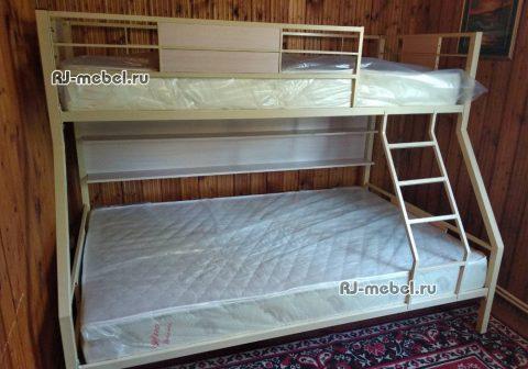 ЗЕВС 3 - двухъярусная металлическая кровать
