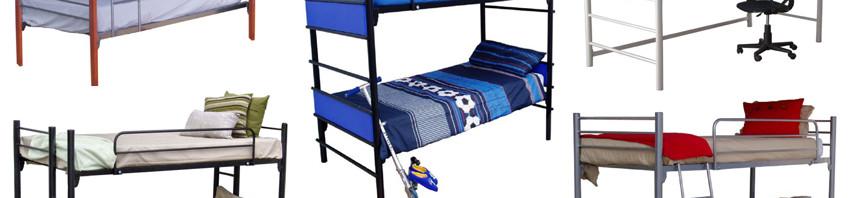 Новое поступление металлических двухъярусных кроватей