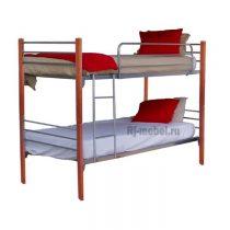 Двухъярусная металлическая кровать Герда
