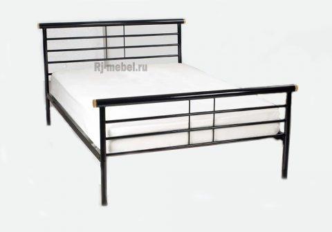 Двуспальная металлическая кровать Жозефина