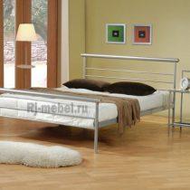 Двуспальная металлическая кровать Жасмин