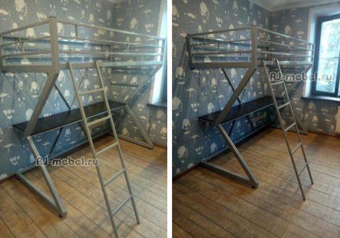 кровать чердак Зетта