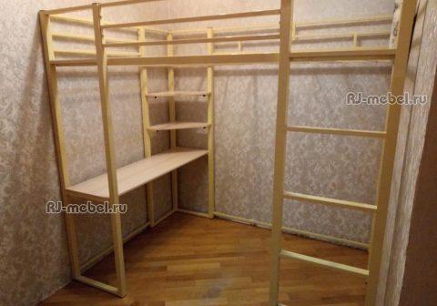 металлическая кровать-чердак Шерман