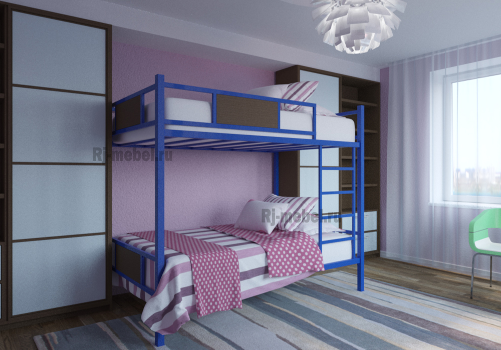 Двухъярусные кровати для хостела