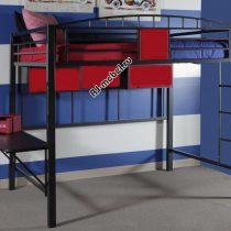 Двухъярусная металлическая кровать-чердак Аполлон