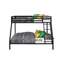 Двухъярусная металлическая кровать Афродита
