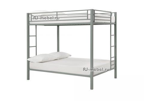 Двухъярусная металлическая кровать Престол