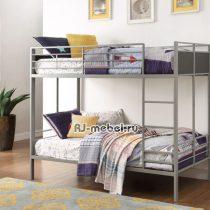 Двухъярусная металлическая кровать Фишер