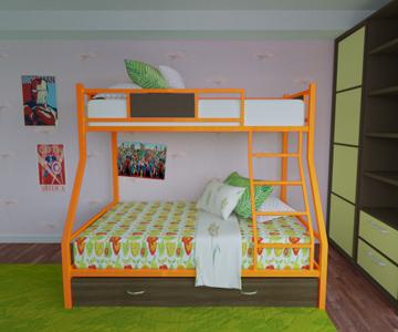 Двухъярусные кровати для лагеря в России