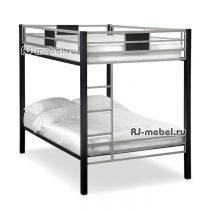 двухъярусная металлическая кровать Самба