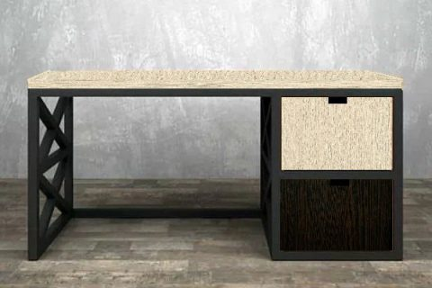 стол в стиле лофт Геракл