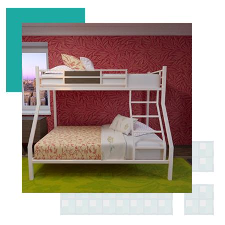 Интернет магазин двухъярусных кроватей в Москве