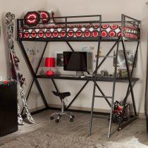 металлическая двухъярусная кровать чердак Градо 3